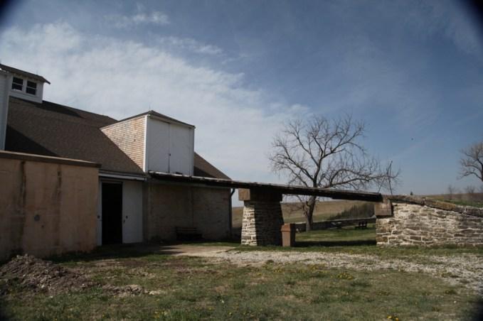 TALLGRASS PRAIRIE NATIONAL PRESERVE old barns
