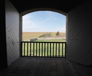 TALLGRASS PRAIRIE NATIONAL PRESERVE view from inside