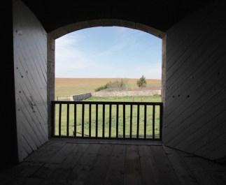 TALLGRASS PRAIRIE NATIONAL PRESERVE view from inside