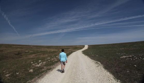 TALLGRASS PRAIRIE NATIONAL PRESERVE solo hiker