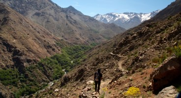 Hiking in the High Atlas Trail Mohamed