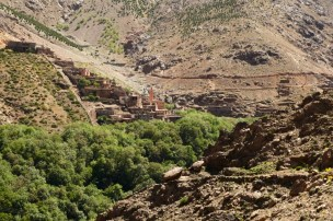 Hiking in the High Atlas mountains