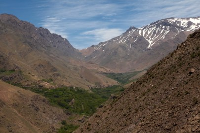 Hiking in the High Atlas trek pass