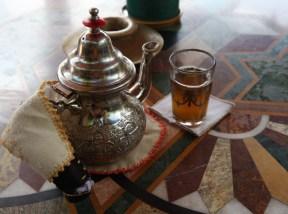 Kasbah Tamadot mint tea