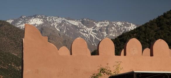 Kasbah Tamadot rooftop view