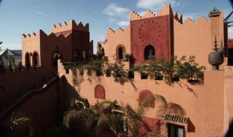Kasbah Tamadot rooftop