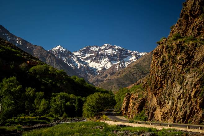 And then you round a few corners and BOOM, Mount Toubkal is right there staring at you.