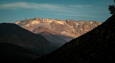 ...with Mount Toubkal always looming in the distance. Snow-capped for most of the year.