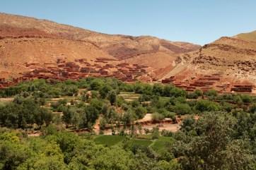 Morocco N9 the road from Tizi n'Tichka pass