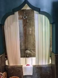 Kasbah Tamadot shower