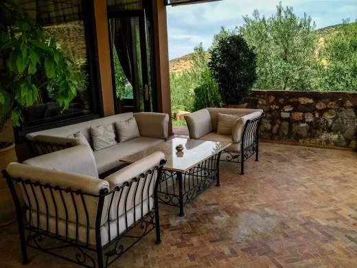 Kasbah Tamadot Master Suite terrace