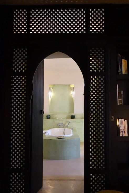 Dar Ahlam bathroom entrance