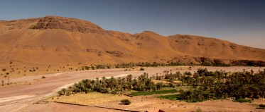 Morocco riverbed