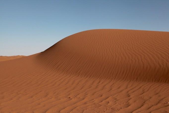 Dar Ahlam Tent Camp dune