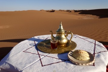 Dar Ahlam Tent Camp tea service