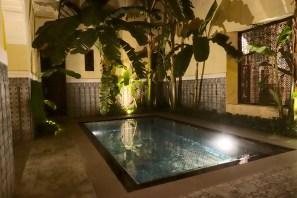 La Villa des Orangers interior private pool
