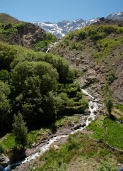 Waterfalls in Toubkal