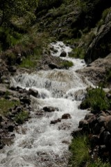 Toubkal waterfall