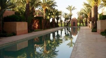 Amanjena reflecting pool