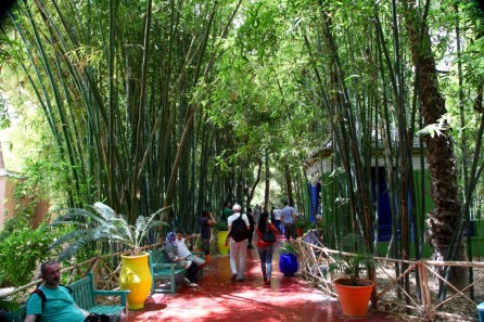 Jardin Majorelle entry