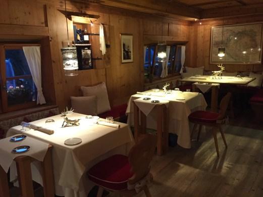 Hermitage BioHotel Michelin restaurant