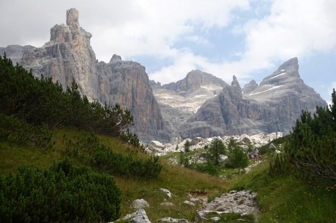 Trail to Rifugio Brent path