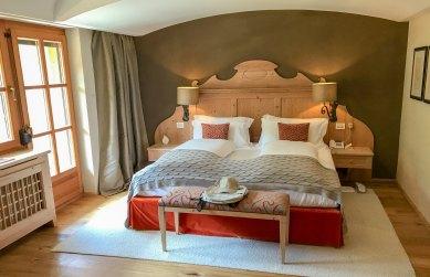 Rosa Alpina Junior Suite bed