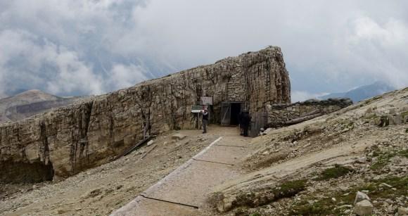 Lagazuoi fort