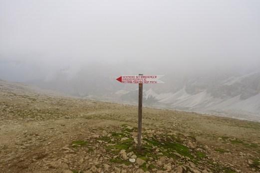 Lagazuoi gondola sign