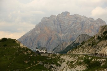 Passo Valparola on the road to Cortina
