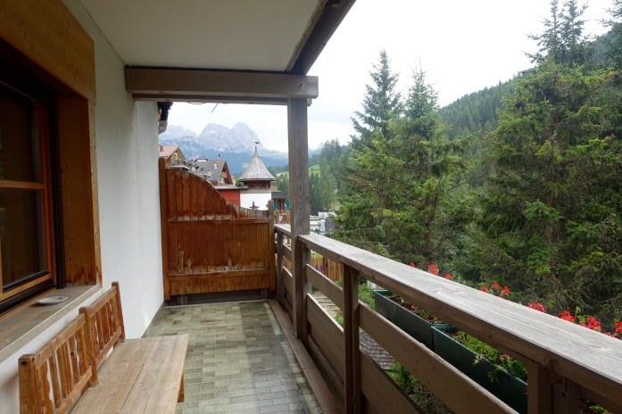 Hotel Rosa Alpina junior suite terrace