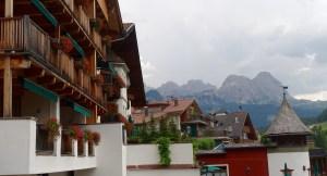 Hotel Rosa Alpina view