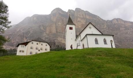 Santa Croce mountain backdrop