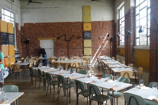 Un Posto Milano restaurant interior