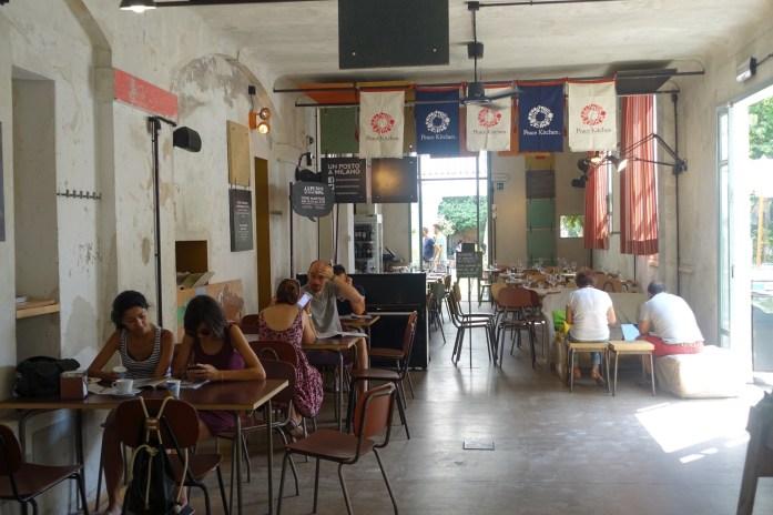 Un Posto Milano cafe interior