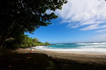 Hamoa Beach colors