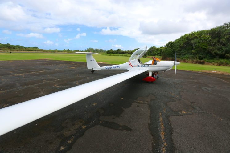 Hana Motorized Glider