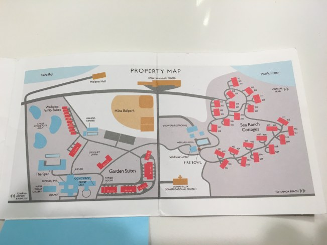 Travaasa Hana map