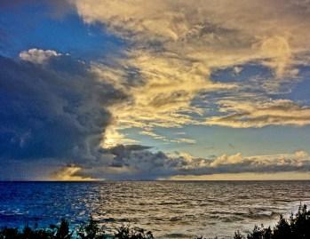 Travaasa Hana sunrise clouds