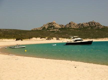 Domaine de Murtoli Plage d'Erbaju yachts