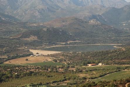 A Piattatella view reservoir
