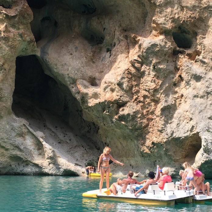 Gorge du Verdon paddleboaters