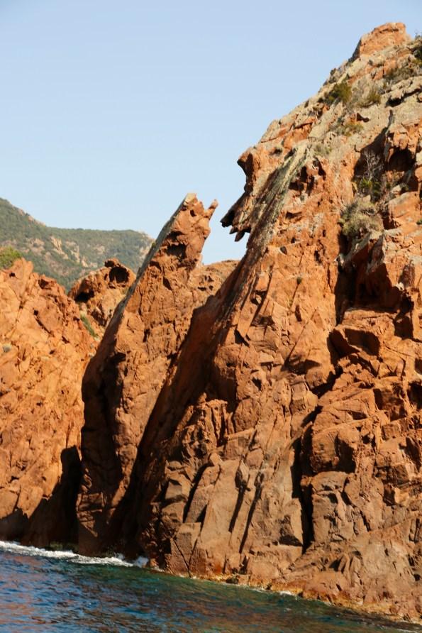 Scandola Nature Reserve rock formation