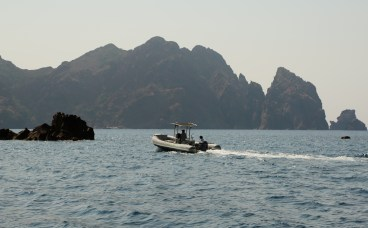Scandola Nature Reserve boat cliffs