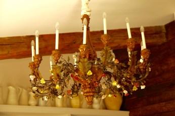 Bastide de Moustiers chandelier