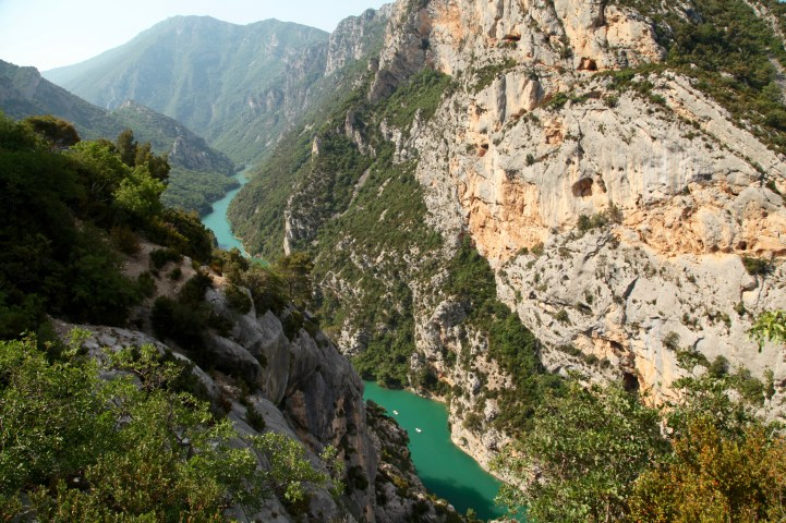 Gorge du Verdon canyon