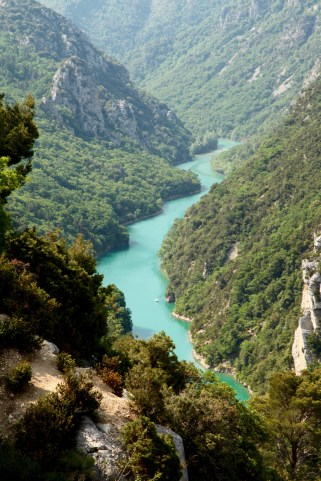 Gorge du Verdon green river
