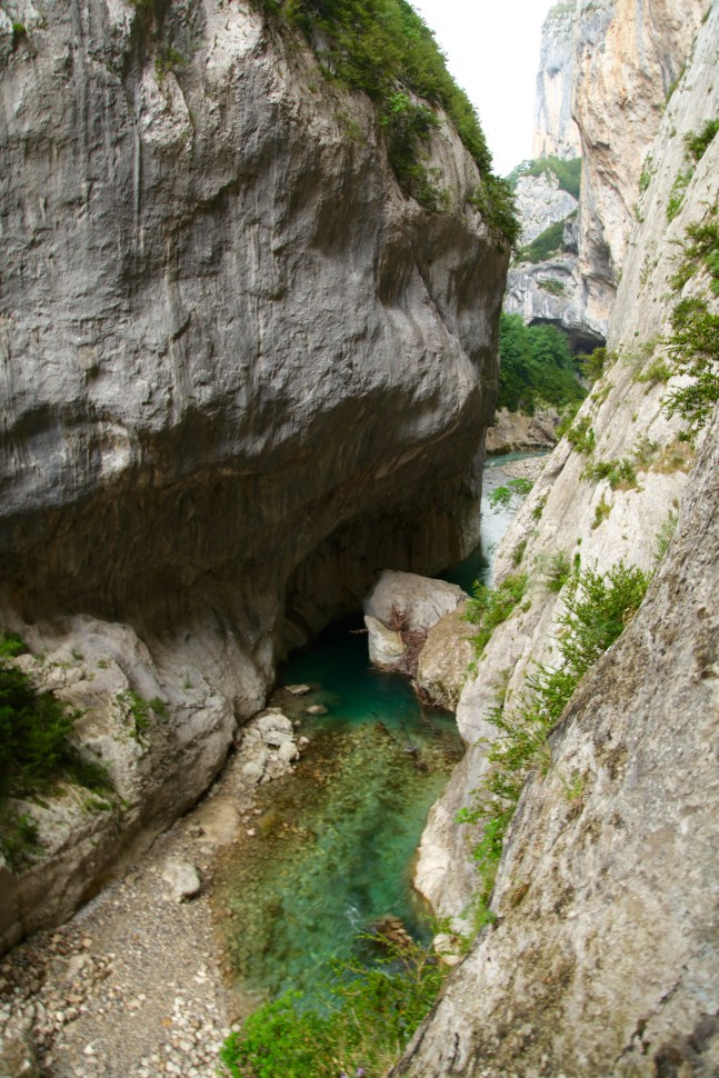 Gorge du Verdon Pointe Sublime canyon