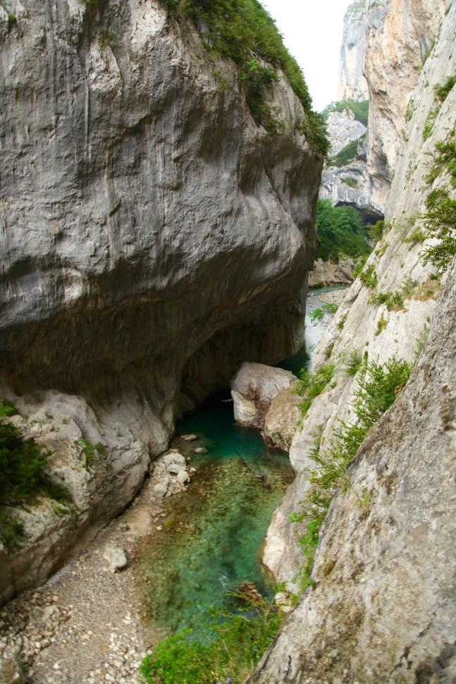 Gorge du Verdon Pointe Sublime canyon