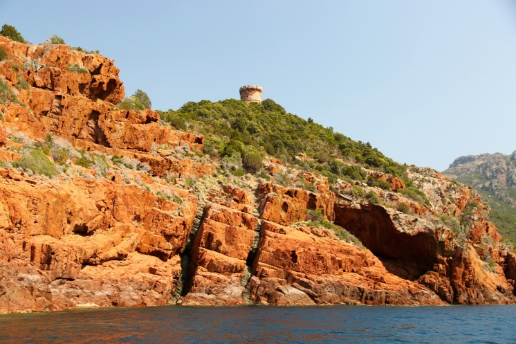 Scandola Nature Reserve watch tower